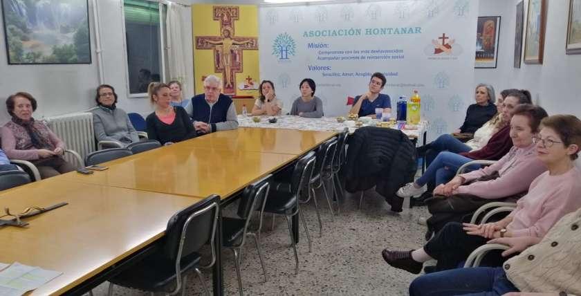 formación voluntariado asociación hontanar 2020