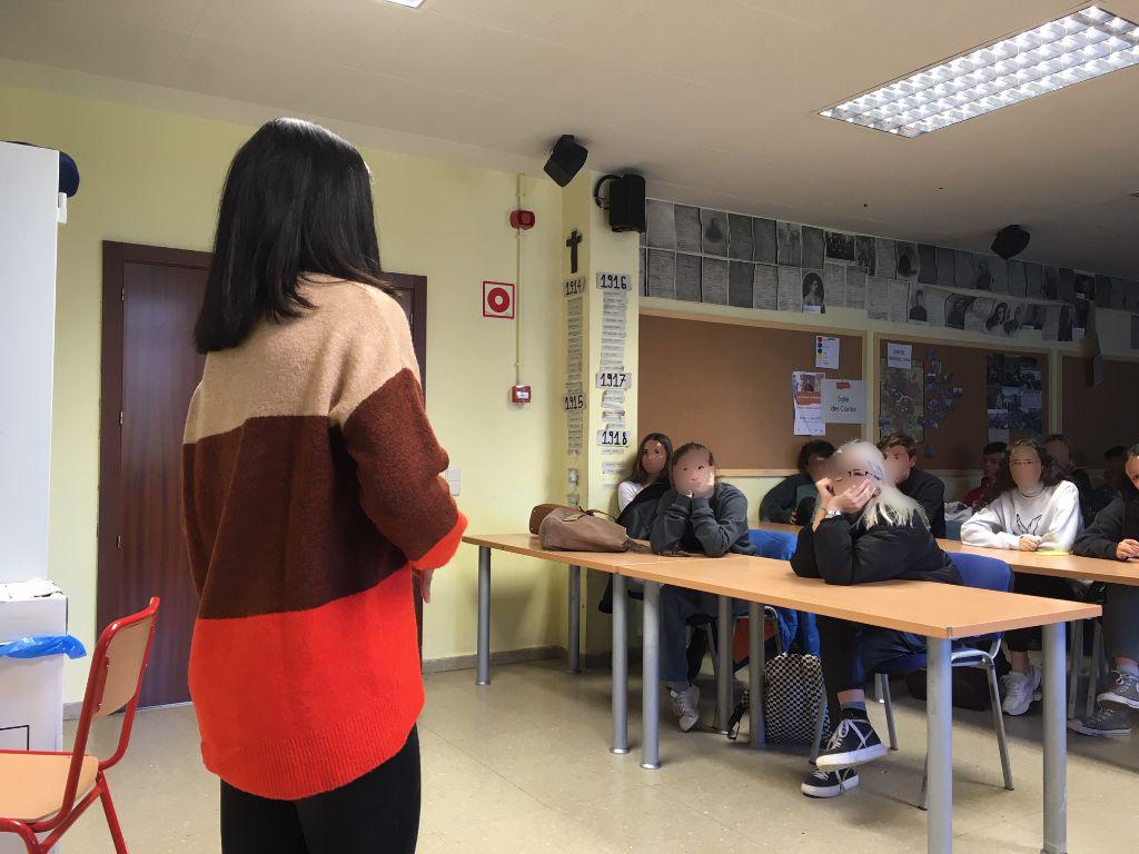 la fundación hay salida en el liceo francés