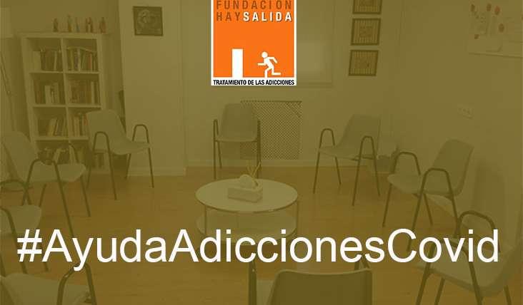 ayuda adicciones covid